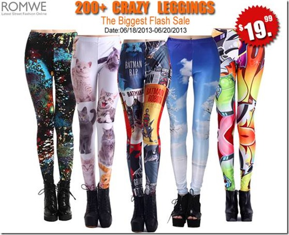 Legging Sale 6-16-2013