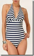 Phase Eight Striped Swimsuit