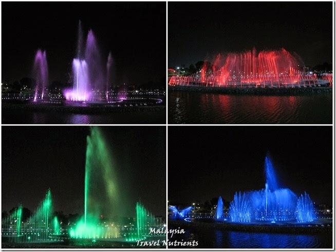 沙巴亞庇丹容亞路海灘夕陽 Perdana Park音樂水舞 (33)
