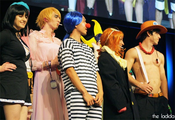 SMASH! Cosplay Competition 2013 - One Piece Group