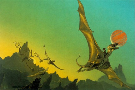 Dragon Flight (C) Michael Whelan