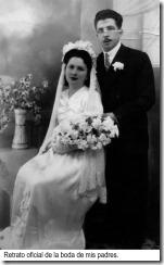 3 Retrato oficial de la boda de mis padres