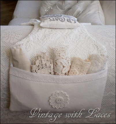 Couch Caddy by Vintage with Laces
