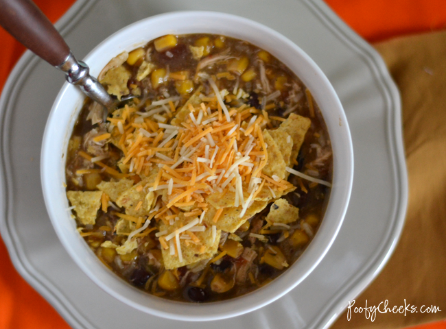 Crock Pot Recipe: Chicken Fajita Chowder