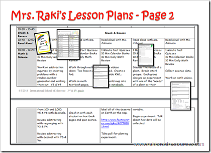 Differentiated lesson plans - Raki's Rad Resources