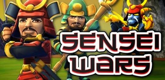 لعبة حروب معلمى الساموراى Sensei Wars 3D HD لأبل iOS