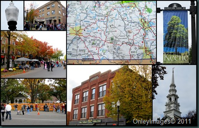 keene downtown collage
