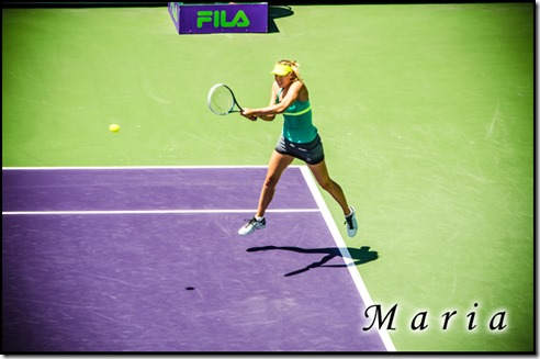 Maria at Sony Open 2013-Blog