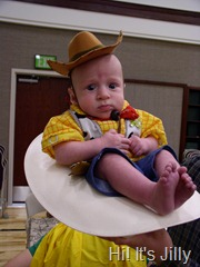 baby woody halloween costume