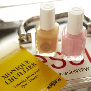 essie for Monique Lhuillier NYFW 2014 #essieNYFW