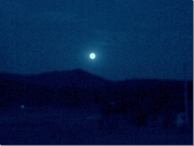 A Blue Moon.. Aug 2012