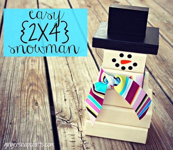 2x4 snowman from Ginger Snap Crafts_thumb