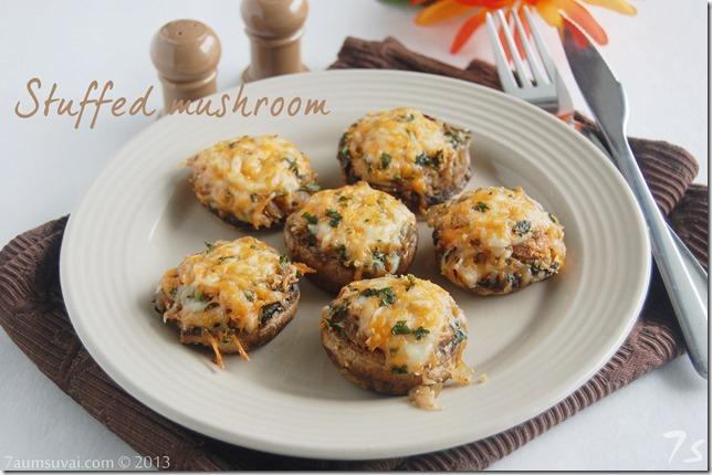Stuffed mushroom