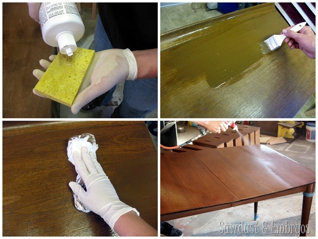 Using Cabinet Transformations by Rustoleum to bring furniture back to life.