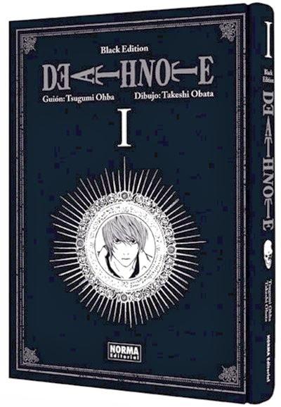 Reedición del Death Note 1 Black Edition de Norma Editorial
