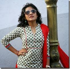 Actress Niveda Thomas in Naveena Saraswathi Sabatham Movie Stills
