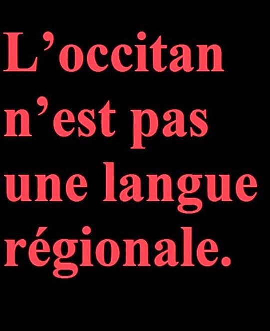 occitan es pas una lenga regionala