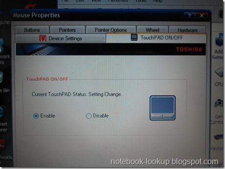 รวมวิธีแก้ปัญหา Toshiba Satellite L310 Touchpad ไม่ทำงาน