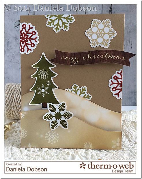 Cozy Christmas by Daniela Dobson Therm O Web