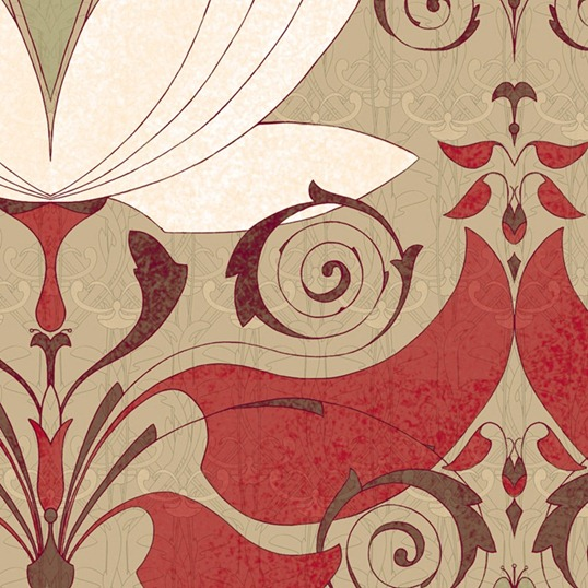 lotos pattern by Maria Khersonets - 5