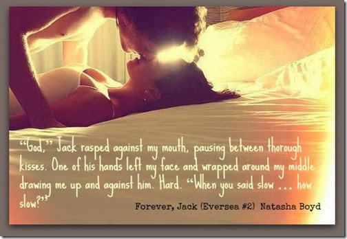 FJ bed kiss with quote