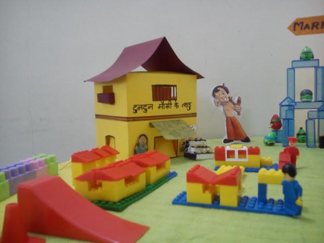 Tuntun Mausi;s house