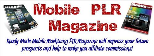 Digital Magazine for Mobile PLR Pack