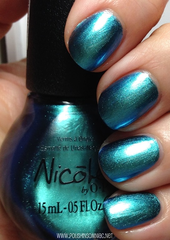 Nicole by OPI Empowered Emerald