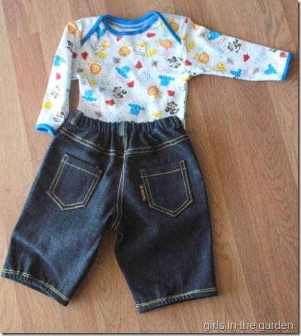 ottobre boy outfit -back