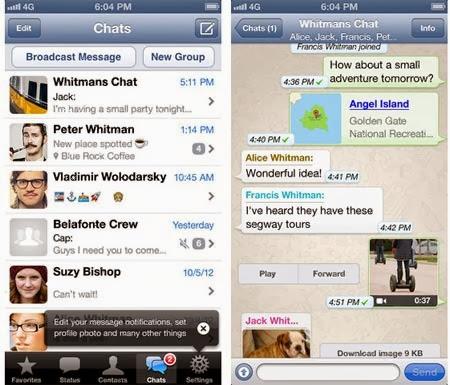 Dos cuentas de WhatsApp con 2Lines for WhatsApp