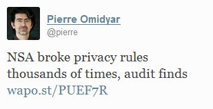 Omidyar tweet