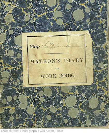 'Matron's diary of the voyage of the 'Fitzjames', 1856-57' photo (c) 2008, Photographic Collection - license: http://creativecommons.org/licenses/by/2.0/