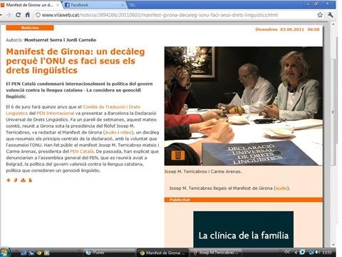 declaració de Girona Vilaweb 030611