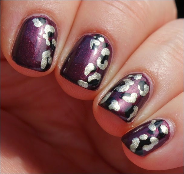 Safari Leo Nails Nail Art 06