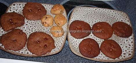 microwave  and oven baked cookies