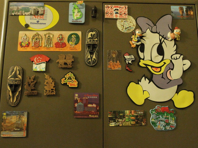 Fridge Magnets from South East Asia