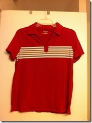 Red Small Stripe