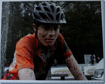 Josh after a MTB Race