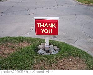 'Thank You' photo (c) 2005, Orin Zebest - license: http://creativecommons.org/licenses/by/2.0/