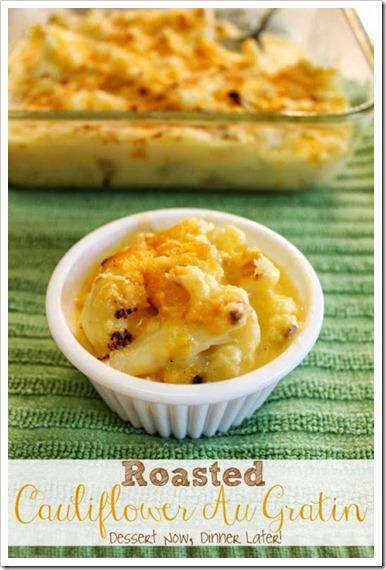 Roasted Cauliflower Au Gratin1