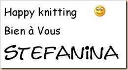 Happy knitting