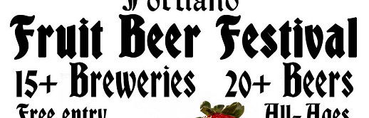 image courtesy of The Fruit Beer Festival's organizers