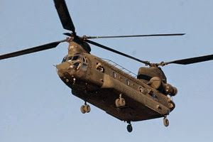 Chinook helicopter in Afghanistan full 600