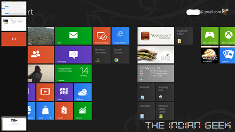 06 - Start Screen, App Switcher left edge