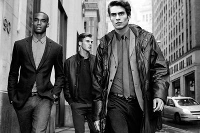 Corey Baptiste + Patrick Kafka + Jon Kortajarena  by Inez & Vinoodh for DKNY F/W 2011-12 campaign