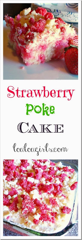 strawberry poke cake4