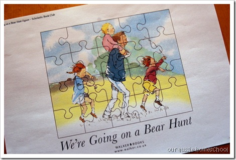 Bear Hunt Jigsaw