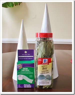supplies for Bay Leaf Tree