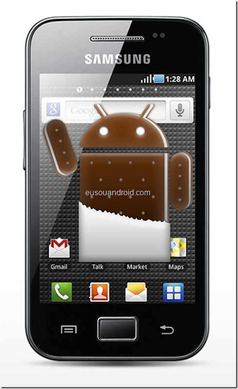Galaxy Ace S5830 Ice Cream Sandwich