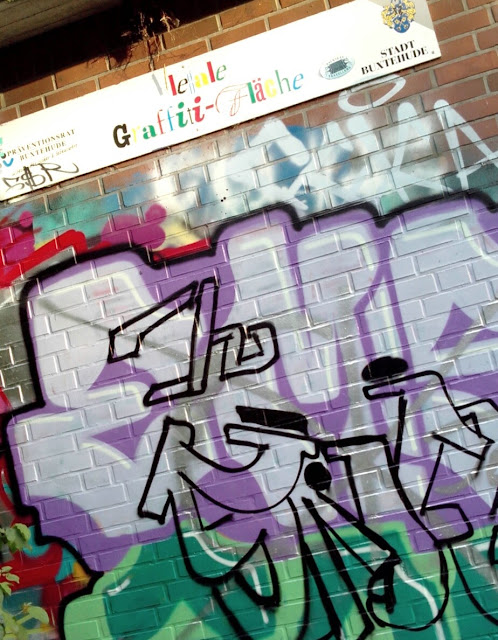 Graffiti Fläche in Buxtehude
